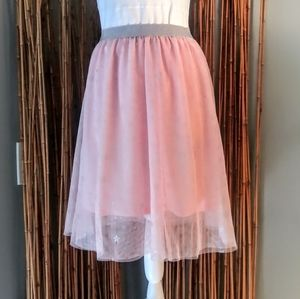 👗🆓DKNY Tuell Midi Skirt